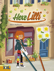 Hexe Lilli - Mein Malbuch