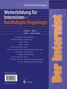 Der Internist: Weiterbildung für Internisten Kardiologie/ Angiol