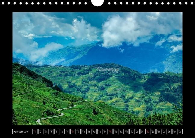 Landscapes of Yunnan (Wall Calendar 2015 DIN A4 Landscape) - zum Schließen ins Bild klicken
