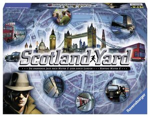 Heidelberger RV187 - Scotland Yard 13, Strategiespiel