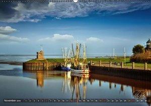Friesland - Watt und Nordsee (Wandkalender 2016 DIN A2 quer)