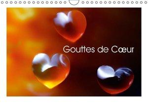 Gouttes de Coeur (Calendrier mural 2015 DIN A4 horizontal)