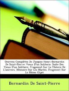 Oeuvres Complètes De Jacques-Henri-Bernardin De Saint-Pierre: Vo