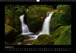The Black Forest - UK Version (Wall Calendar 2015 DIN A3 Landsca