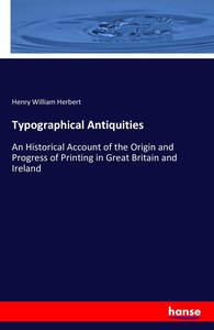 Typographical Antiquities