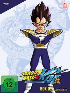Dragonball Z Kai - DVD Box 2 (4 DVDs)