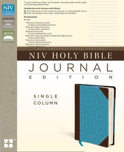 NIV Single-Column Journaling Bible