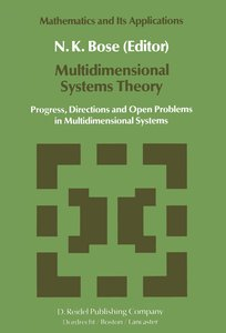 Multidimensional Systems Theory