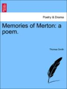 Memories of Merton: a poem.