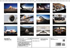 Boeing 777 FREIGHTER (Wall Calendar 2015 DIN A3 Landscape) - zum Schließen ins Bild klicken