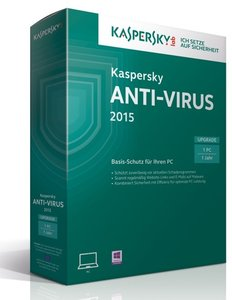 Kaspersky Anti-Virus 2015 Upgrade