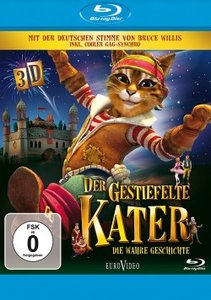 Der gestiefelte Kater 3D (Blu-ray 3D)