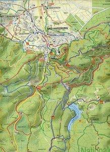 Nationalpark Harz 1 : 35 000. Grosse Wander-, Ski- und Radwander