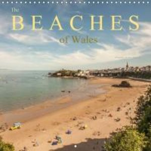 The Beaches of Wales (Wall Calendar 2015 300 × 300 mm Square)