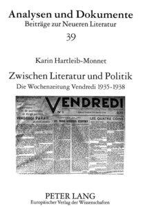 Zwischen Literatur und Politik