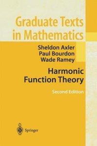Harmonic Function Theory