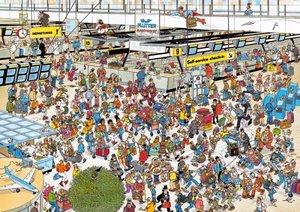 Jumbo Spiele 01648 - Jan van Haasteren: Am Flughafen