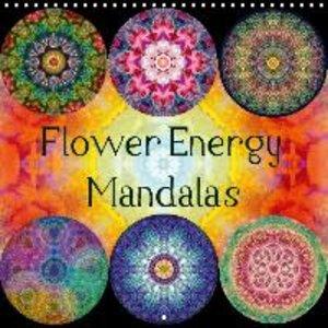 Flower Energy Mandalas (Wall Calendar 2016 300 × 300 mm Square)