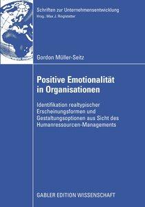 Positive Emotionalität in Organisationen
