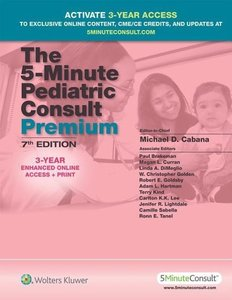 The 5-Minute Pediatric Consult Premium