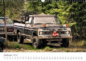 US Cars & Trucks in Alaska / UK-Version (Wall Calendar 2015 DIN