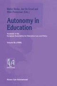 Autonomy in Education