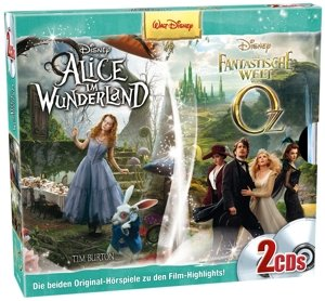 CD Box Alice im Wunderl./fantast.Welt v.Oz