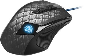 Sharkoon Drakonia Black - Gaming Laser Maus 8200 dpi