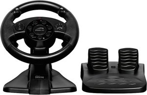 DARKFIRE Racing Wheel for PC & PS3, black