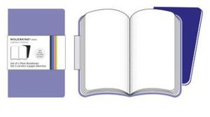 Moleskine Purple Plain Volant Notebook P. 2 Notebooks in 2 Shade