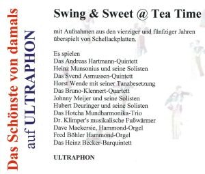 Swing And Sweet At Tea Time