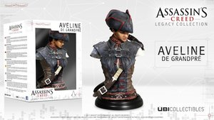 Assassins Creed 3 Liberation - Aveline De Grandpré Büste - Legac