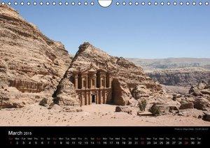 Monuments of Jordan 2015 (Wall Calendar 2015 DIN A4 Landscape)