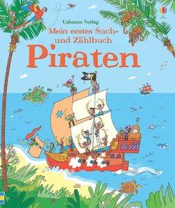 Mein erstes Such- und Zählbuch: Piraten