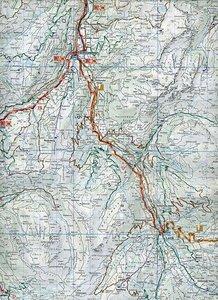 KuF Schweiz Radkarte 16 Berner Oberland Simmental 1 : 60 000