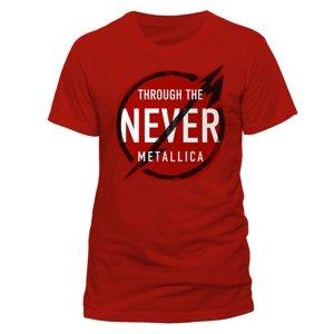 Through The Never Sign (T-Shirt,Rot,Größe M)