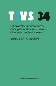 Biodiversity in ecosystems: principles and case studies of diffe