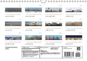 Europa Panorama 2016 (Wandkalender 2016 DIN A4 quer)