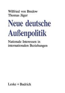 Neue deutsche Außenpolitik