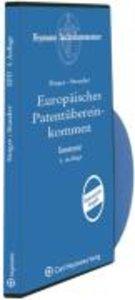 Europäisches Patentübereinkommen auf CD-ROM