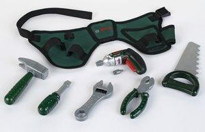 Theo Klein 8493 - Bosch: Werkzeuggürtel mit Ixolino Akkuschraube