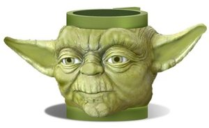 Joy Toy 43071 - Staw Wars Yoda Plastiktasse