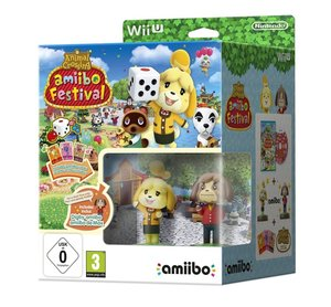 Animal Crossing: amiibo Festival + 2 amiibo-Figuren + 3 amiibo-K
