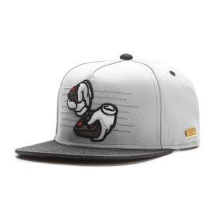 HOG - Ol School Cap (Flat Cap) - Grau