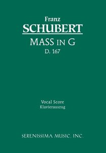 Mass in G, D. 167 - Vocal Score