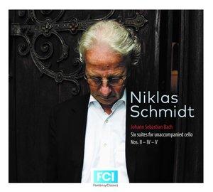 Suiten BWV 1008,1010 & 1011