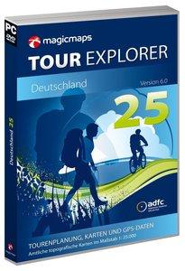 Tour Explorer Set Nord. Version 6.0. 1 : 25 000