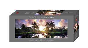 Palm Trees. Puzzle 2000 Teile