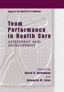 Team Performance in Health Care