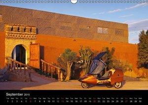 TWIKE Maroc 2015 E-Pioneer of Morocco (Wall Calendar 2015 DIN A3